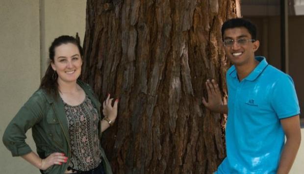 Photo of Mollie Mustsoe and Rohith Bhethanabotla