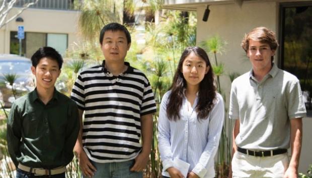Photo of Jonathan Fung, Kai Cheng and Michael Quezada