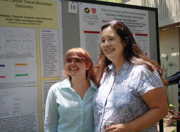 Dr. Sharon Pitteri and Intern Alisha Birk
