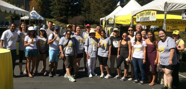 Canary Center Members at the 2015 Canary Challenge Finish line